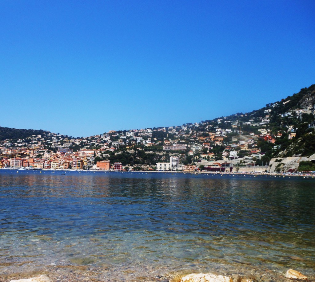 View to Villefranche from Cap Ferrat